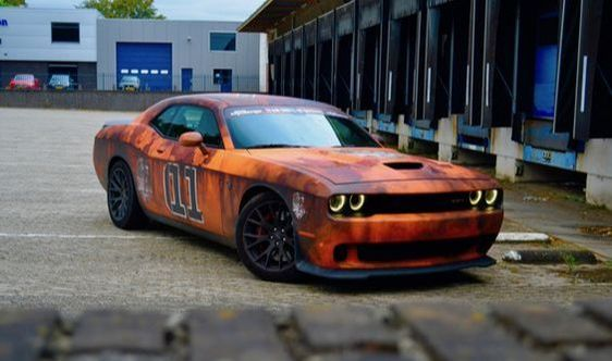 MUST SEE 2018 General Lee ''2018 Dodge Challenger SRT-8 Hellcat 3'' WOW