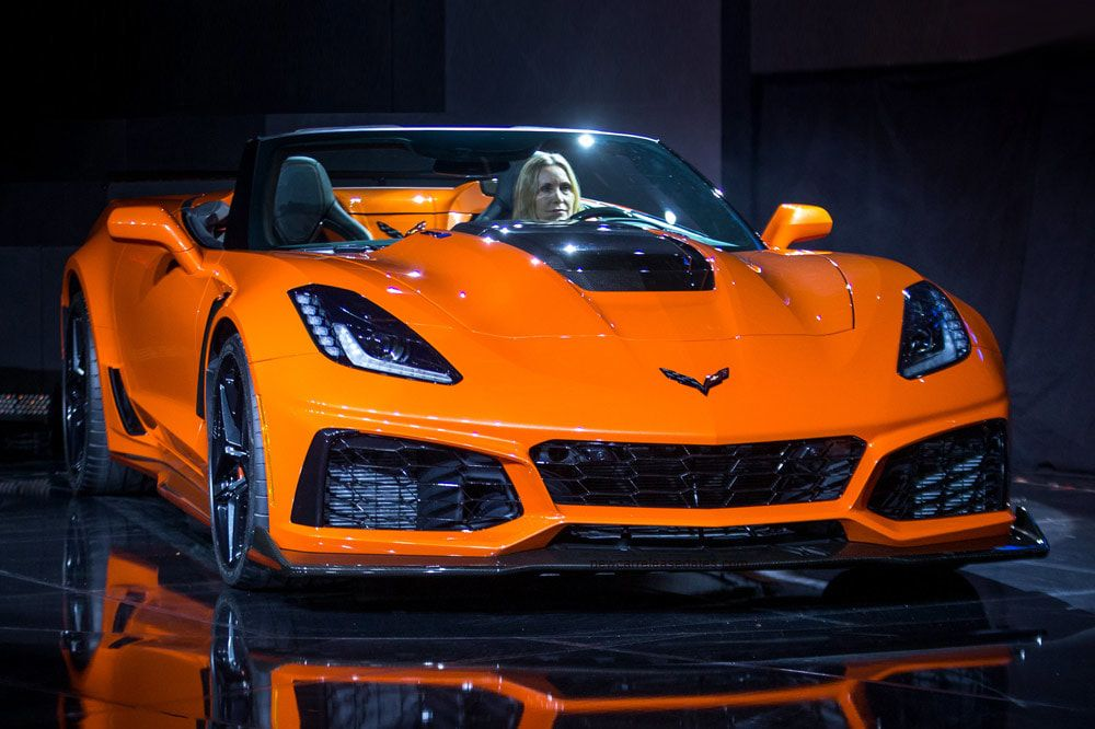 Chevrolet Corvette ZR1 Convertible With greater attractiveness when it comes to a convertible