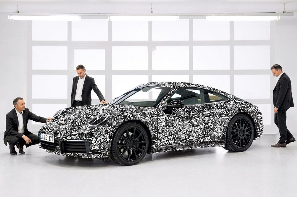Porsche 911 2019: first official photos