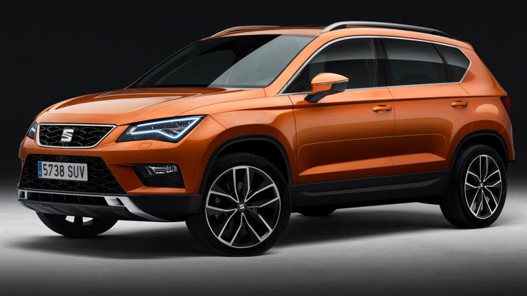 Seat Ateca Cupra - possible version of high performance that is rumored could be introduced in 2018.